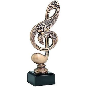 Figurine en fonte - Musique Rty3859A / Br