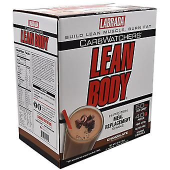 LABRADA NUTRITION Lab Lean Body Lo Carb Ch, 20 CT