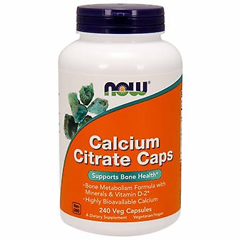 Now Foods Calcium Citrate, 240 Veg Caps