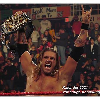 WWE Men Calendar 2021 Official Calendar 2021, 12 months, original English version.