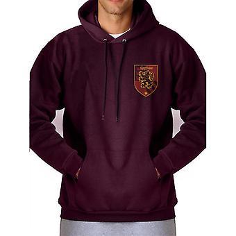 Harry Potter Adultes Unisex Gryffindor House Sweatshirt à capuchon