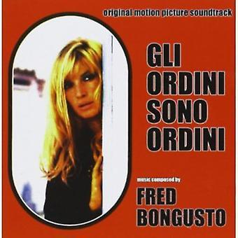 Bongusto Fred - Gli Ordini Sono Ordini [CD] USA import