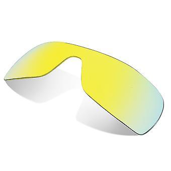 العدسات البديلة المستقطبة لنظارات أوكلي باتوولف النظارات الشمسية المضادة للخدش الذهب