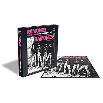 Ramones - raket till Ryssland album täcker 500pc pussel