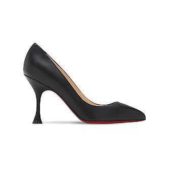 Christian Louboutin 3200748bk01 Women's Black Leather Pumps