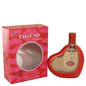 Bebe Kiss Me Eau De Parfum Spray By Bebe 3.4 oz Eau De Parfum Spray