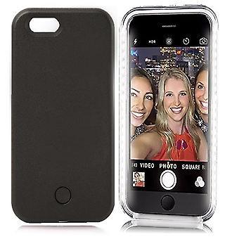 LED Selfie -matkapuhelimen kotelon kansi iPhonelle
