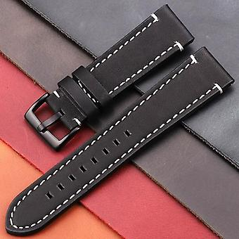 Vintage Genuine Leather Watchbands Belt, Women, Men Cowhide Strap, Watch