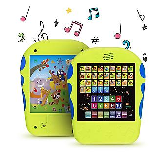 Boxiki kids spanish learning tablet educational toy by touch-and-learn spanish alphabet toy with spa