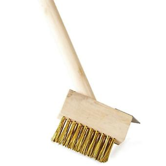 Roots & Shoots Patio Brush With Groove Blade