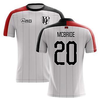 Fotbalové tričko 2020-2021 Fulham Home Concept (McBride 20)