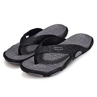 Outdoor Men's Slippers Beach Shoes Fashion Flip Flops Summer Shoes
