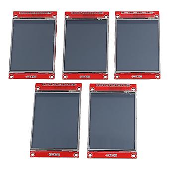 5PCS LCD Touch Panel 240 x 320 2.8Inch SPI TFT Serial Port Module With PBC ILI9341
