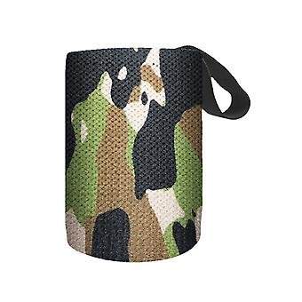 2PC Nylon Camouflage Camouflage Army Green Wrap Left and Right  Sports Bracers