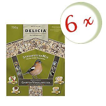 Sparset: 6 x FRUNOL DELICIA® Delicia® spreader mix, 750 g