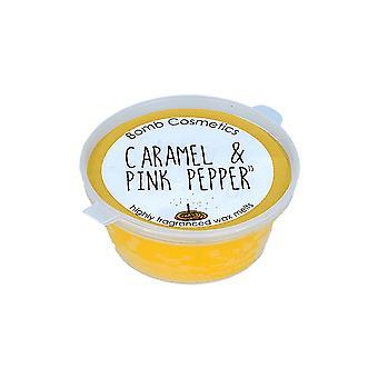 Bomb Cosmetics Mini Melt - Caramel & Poivre Rose