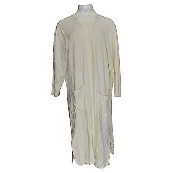 Linea Por Louis Dell'Olio Women's Sweater Long Cardigan White A287608