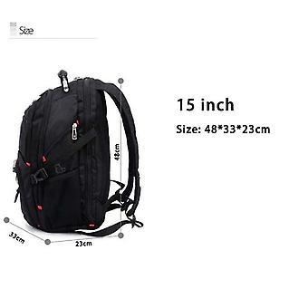 """Crossten 17"""" Laptop Backpack Waterproof Usb Charge Port Swiss-style"""