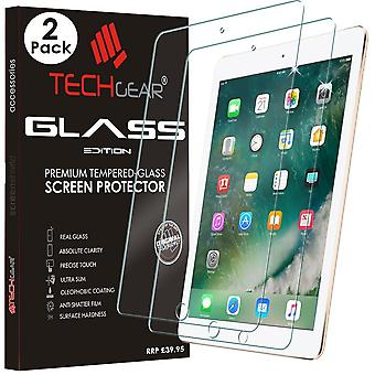 """[2 Pack of] techgear glass edition for ipad 9.7"""" (2018/2017) - genuine tempered glass screen protect"""
