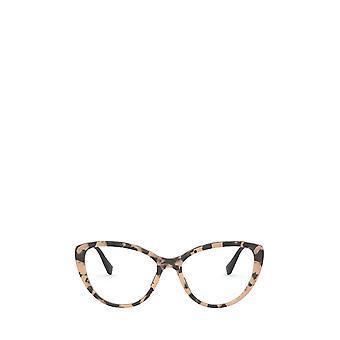 Miu Miu MU 02SV havana female eyeglasses