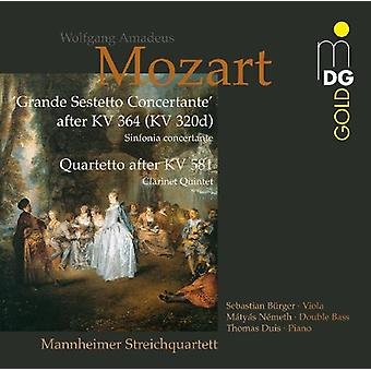 W.a. Mozart - Mozart: Sestetto Concertante; Quartetto [CD] USA import