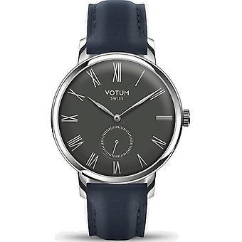 VOTUM - Reloj de señoras - VINTAGE SMALL - VINTAGE - V11.10.41.02 - correa de cuero - azul
