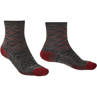 Bridgedale HIKE Lightweight Merino Performance 3/4 Crew Pattern Mens Socks