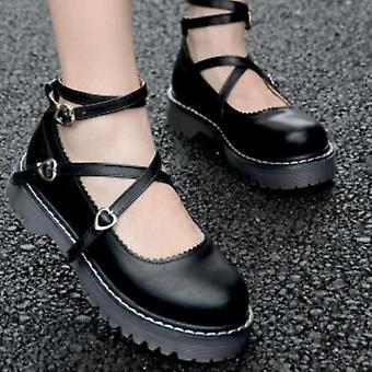 Pu Leather Lolita Dress Cosplay Shoe