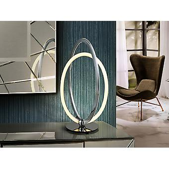 Integrated LED Table Lamp, Chrome
