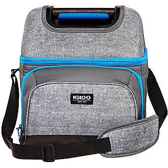 IGLOO Hard-Top Playmate Gripper 22-Can Cooler Bag - Gray/Black