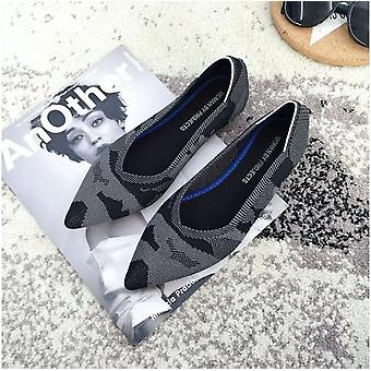 Womens Stretch Knitted Shoes