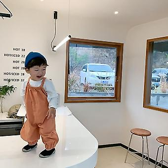 Spring Toddler Overalls Baby Suspender Pant