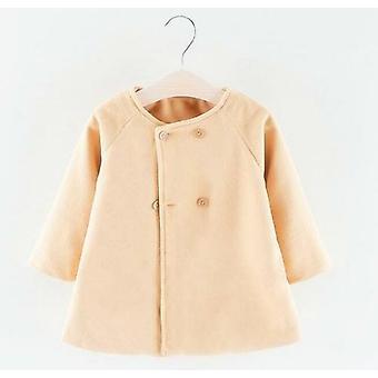 Baby Frühling Winter Wolle Mischungen Jacke Mantel Kleidung Oberbekleidung