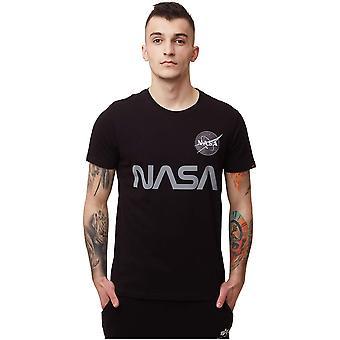 Alpha Industries Nasa Reflective 17850103 universal miesten t-paita