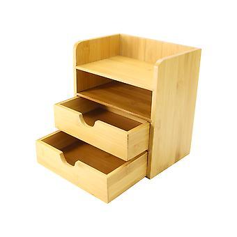 4-Tier Bamboo Desktop Organiser | M&W
