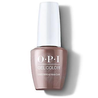 OPI Shine Bright Limited Edition Gel Farge - Pepperkaker Man Kan