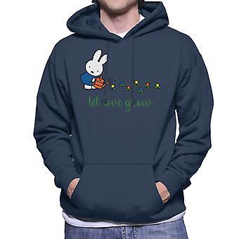 Nijntje Let Love Grow Men's Sweatshirt met capuchon