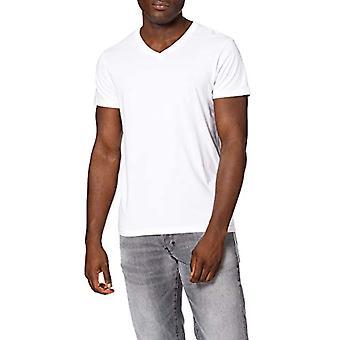 Lee Twin Pack V Neck T-Shirt, White, XXL Men's