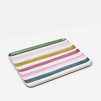 Joules Stripe Large Willow Wood Tray