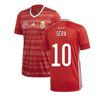 2020-2021 Hungary Home Adidas Football Shirt (GERA 10)