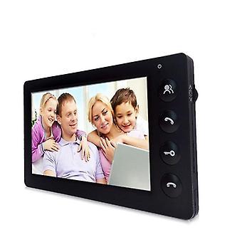 Video Intercom Visual Door Phone 7 Inch Wired Indoor Monitor