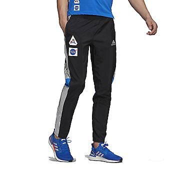adidas Space Race Men's Track Pants, Black