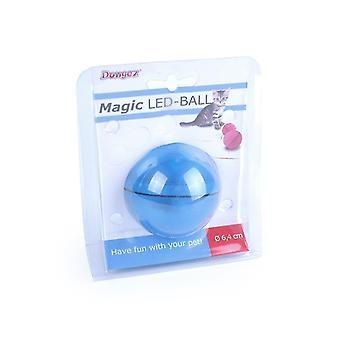 Sininen sähköinen laser lemmikki kissa lelu, led valovoimainen satunnainen pallo USB lataus laser hauska kissa pallo az5194
