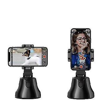 Schwarze Auto-Gesicht-Tracking-Smart-Shooting-Telefon-Kamerahalter 360 Rotation Stand az17756