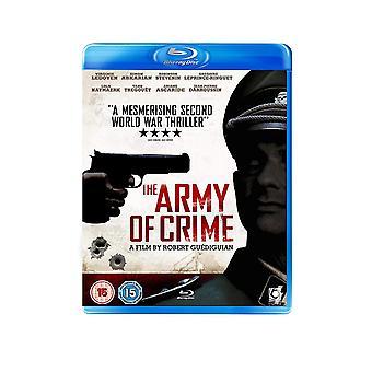 Armén av brott Blu-Ray