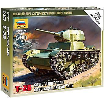 Zvezda Z6113 Soviet Tank T-26 Model Kit
