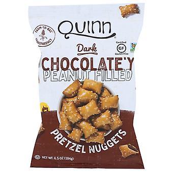 Quinn Pretzel Nug Pb Choc Fld, Case of 8 X 6.5 Oz