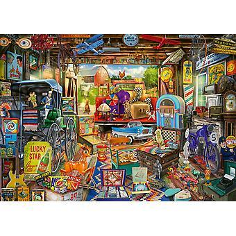 Schmidt Garage Car Boot Sale Jigsaw Puzzle (500 Pieces)
