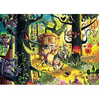 Ravensburger Lions Tigers and Bears Oh My! (Wizard of Oz) Jigsaw Puzzle (1000 Pieces)