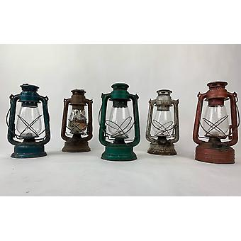 Spura Home Outdoor Hanging Vintage Style Oiled Antiqued Rustic Lantern